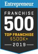 Entrepreneur Franchise 500 Top Franchise $500k+ 2019