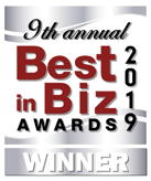 9th annual best in biz award 2019 winner