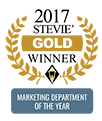 2017 Stevie Gold Winner - Marketing Department of the Year