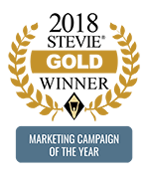 2018 Stevie Gold Winner - Marketing Campaign of the Year