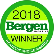 Bergen Magazine Reader's Choice Awards 2018 Winner