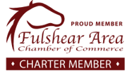 Flushear Area, Chamber of Commerce. Charter Member