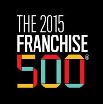 The 2015 Franchise 500 logo