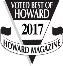 Howard Magazine Badge: Voted Best of Howard County 2017