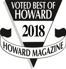 Howard Magazine Badge: Voted Best of Howard 2018