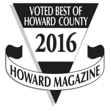Howard Magazine Badge: Voted Best of Howard County 2016