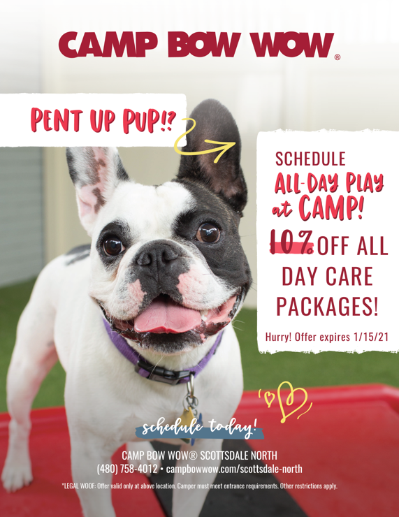 10% off daycare packages