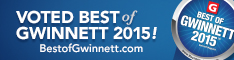 Voted Best of Gwinnett 2015
