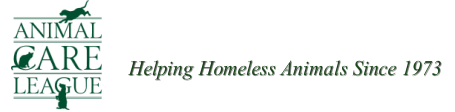Animal Care League, Helping Homeless Animals Since 1973