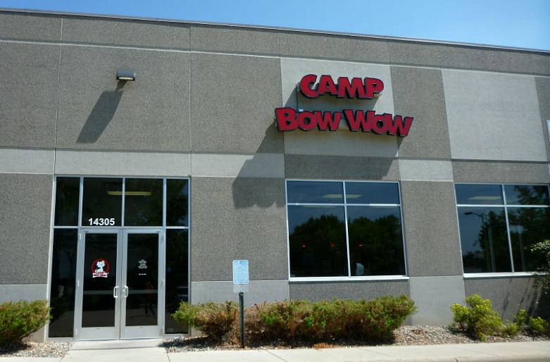 Camp Bow Wow Exterior Shot