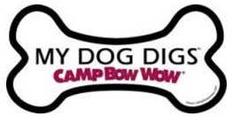 My Dog Digs Camp Bow Wow Magnet