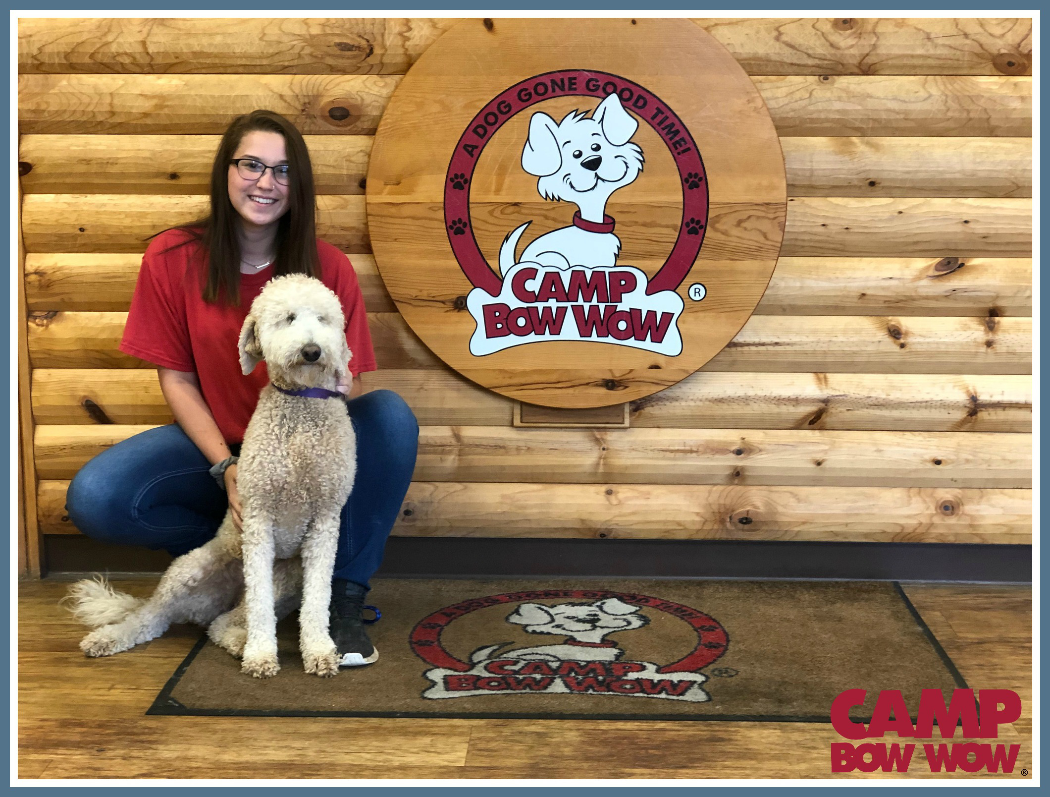 Photo of Jess Years With Camp Bow Wow: 6 Months