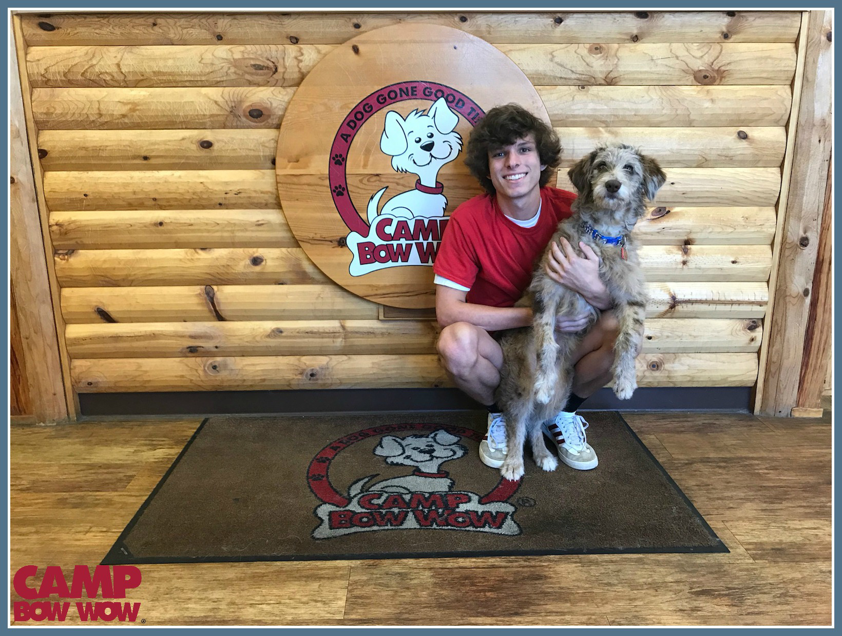Photo of Dustin Years With Camp Bow Wow: 8 Months